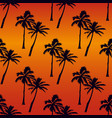 tropical seamless pattern - purple and purple vector image vector image