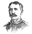 charles vernon gridley vintage vector image vector image