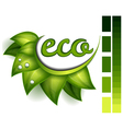 Ecological symbol vector image vector image