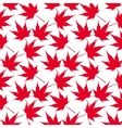 Red maple leaves Seamless pattern Canada vector image vector image