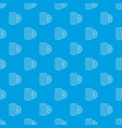 tire pattern seamless blue vector image