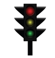 Traffic lights 3 vector image