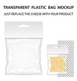 Transparent Plastic Bag Mockup Ready For Your