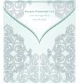 Vintage Baroque envelope Invitation card Imperial vector image vector image