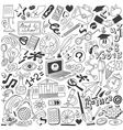 Education - doodles collection vector image vector image