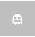 ghost computer symbol vector image