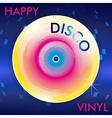 Retro Disco Vinil vector image vector image