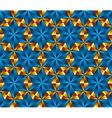 seamless tiles in shape hexagonal stars vector image vector image