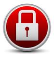 stylish padlock icon vector image vector image