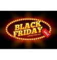 Black Friday SALE frame design template Black vector image