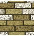 seamless brickwork vector image