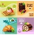 Bakery Concept Set vector image