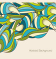abstract background with silhouette foliage vector image vector image