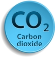Carbon dioxide vector image vector image