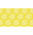 Lemon pattern background vector image