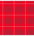 Red tartan pattern vector image