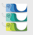 sale labels paper tags paper layers design vector image