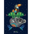 wild totem animal Koala vector image vector image