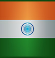 background indian republic day 26 january vector image