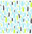 brush stroke hipster seamless pattern vector image