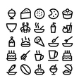 Food Icons 13 vector image vector image