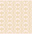 minimal geometric seamless pattern vector image vector image