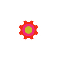 Roller bearing Icon vector image vector image