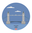 Tower bridge London vector image