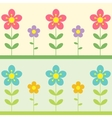 Two flowers background vector | Price: 1 Credit (USD $1)