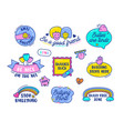 anti bullying icons set isolated on white vector image vector image