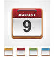 Calendar icon vector | Price: 3 Credits (USD $3)