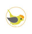 firecrest-bird vector image vector image