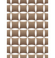 geometric seamless pattern on white background vector image