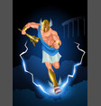 greek gods and goddess hermes vector image vector image