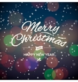 Merry Christmas Party design card vector image vector image