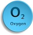 Oxygen vector image vector image