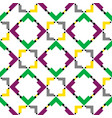 pattern-square-eight vector image vector image