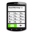 Smart Phone vector image vector image