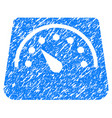 weight meter grunge icon vector image vector image