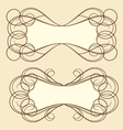 frame3 vector image vector image