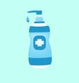 hand sanitizer bottle sanitizer symbol vector image vector image