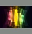 rainbow multicolor big bar reverse abstract vector image vector image