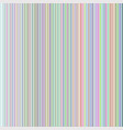 vertical rainbow lines vector image vector image