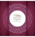 vintage background greeting card invitation vector image