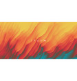 burning fire flames abstract background modern vector image