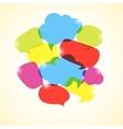 design element colorful transparent bubbles vector image vector image
