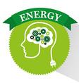 energy ideas design vector image vector image