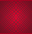 pattern-square-red vector image vector image