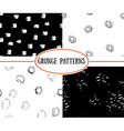 Seamless pattern Hand drawn splashes background vector image