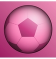 stylish conceptual digital soccer design vector image